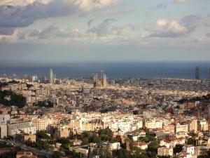 Barcelona desde Collserola, por jas_gd, vía Fickr