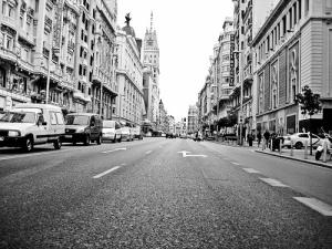 La Gran Vía de Madrid, por Undone 2009, vía Flickr