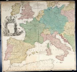 Europa Postas, 1794, Biblioteca Nacional, vía Flickr