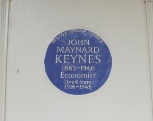 Keynes, por Steve Hunnisett, vía Flickr