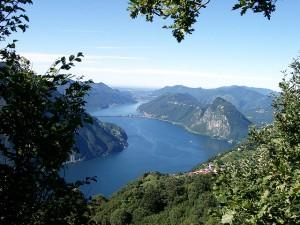 Lago Lugano, por uwelino, vía Flickr