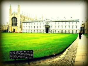 King's College Chapel, en Cambridge, por Bjorn Giesenbauer, vía Flickr