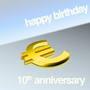 Euro 10th Anniversary, by Mario Seekr, vía Flickr