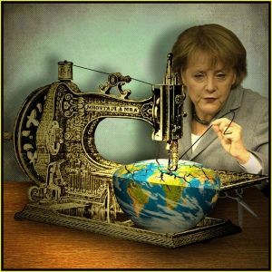 Angela Merkel, by Jaci XIII by Flickr